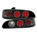 Zadní čirá světla Seat Ibiza 6L 02-08 – černá