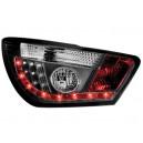 Čirá světla Seat Ibiza 6J 04.08+ _ LED, černá