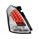 Čirá světla Suzuki Swift 05-09 – LED, krystal
