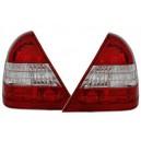 Čirá světla Mercedes Benz C-tř. W202 94-00 – červená/krystal