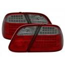 Zadní čirá světla Mercedes Benz CLK C208 97-02 – LED, červená/kouřová