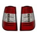 Čirá světla Mercedes Benz E W124 85-96 Combi – LED, červená/krystal