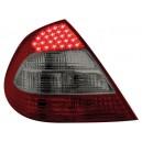 Zadní světla Mercedes Benz W211 E-tř. 02-06 – LED, červená/kouřová