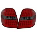 Čirá světla Mercedes Benz W164 M-tř. 05-08 - LED, červená/kouřová
