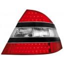 Čirá světla Mercedes Benz W220 98-05 S-tř. - LED, černá