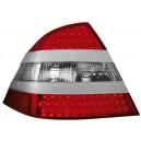 Čirá světla Mercedes Benz W220 98-05 S-tř. - LED, stříbrná