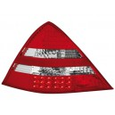 Zadní světla Mercedes Benz SLK R170 96-04 – LED, červená/krystal
