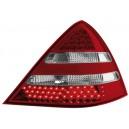 Čirá světla Mercedes Benz SLK R170 96-04 – LED, červená/krystal