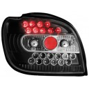 Čirá světla Toyota Yaris 98-03 – LED, černá