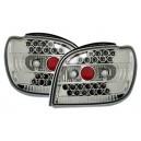 Čirá světla Toyota Yaris 98-03 – LED, krystal
