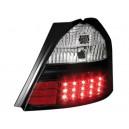 Zadní čirá světla Toyota Yaris 05+ _ LED, černá