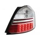 Zadní čirá světla Toyota Yaris 05+ _ LED, krystal