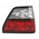 Čirá světla VW Golf II 83-92 – červená/krystal