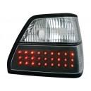 Čirá světla VW Golf II 83-92 – LED, černá
