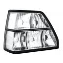Čirá světla VW Golf II 83-92 – krystal