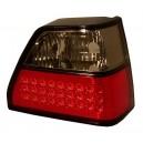 Čirá světla VW Golf II 83-92 – LED, červená/černá