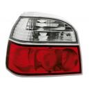 Čirá světla VW Golf III 91-98 – červená/krystal