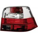 Čirá světla VW Golf IV 97-06 – červená/krystal