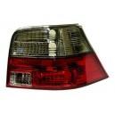 Čirá světla VW Golf IV 97-06 – červená/kouřová