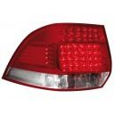 Čirá světla VW Golf V Variant 03-07 – LED, červená/krystal