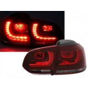 Čirá světla VW Golf VI 5K 10/08- _ LED, červená/kouřová