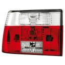 Zadní čirá světla VW Jetta II 84-92 – červená/krystal