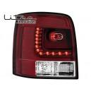 Čirá světla VW Passat 3BG Variant 00-04 – LED, červená/krystal
