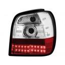 Čirá světla VW Polo 6N 95-98 – LED, červená/krystal