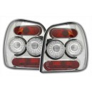 Zadní čirá světla VW Polo 6N2 99-01 – chrom