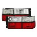 Zadní čirá světla VW Vento 92-98 – červená/krystal