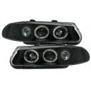 Čirá optika Rover 200 95-00 – černá