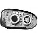 Přední čirá světla Subaru Impreza 03-05 – chrom