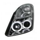 Přední světla Suzuki Swift 05-10 – chrom