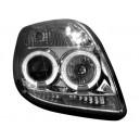 Přední čirá světla Toyota Yaris 06-09 - chrom